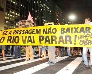 Dupa primavara turceasca, urmeaza vara braziliana: 200.000 de brazilieni protesteaza pe strazile marilor orase