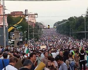 Haos in Bulgaria: Proteste impotriva si in favoarea guvernului