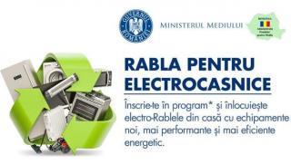 Inceperea Programului Rabla pentru Electrocasnice a fost amanata!