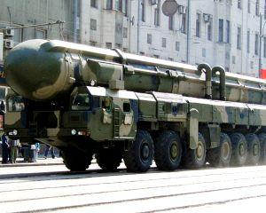 Rusia avertizeaza Europa: A efectuat cu succes un nou test de racheta balistica intercontinentala