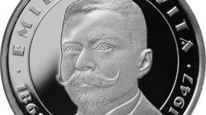 BNR onoreaza personalitatea lui Emil Racovita cu o emisiune numismatica