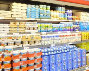 ANPC: Trei din patru comercianti au probleme cu produsele lactate pe care le vand