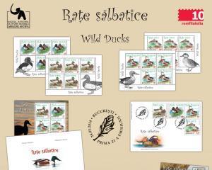 Seria Fauna de la Romfilatelia prezinta timbrele