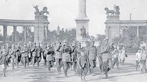 100 de ani de la razboiul pentru apararea Romaniei Mari, in urma caruia Armata romana a ocupat Budapesta