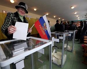 Referendumul separatistilor din Ucraina: doar 40% rata de participare la Donetk