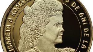BNR o omagiaza pe regina Elisabeta a Romaniei, cu o emisiune numismatica