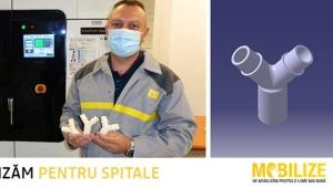 SMURD a primit de la Fundatia Groupe Renault Romania 700 de racorduri necesare ventilatoarelor medicale