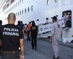 Politia braziliana deschide Cutia Pandorei din industria croazierelor