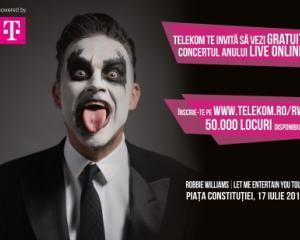 Concertul Robbie Williams restrictioneaza traficul din Capitala