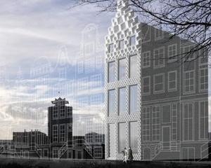 Dus Architects construieste o casa cu ajutorul unei imprimante 3D