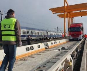 Ministerul Transporturilor readuce in atentie transportarea TIR-urilor pe calea ferata