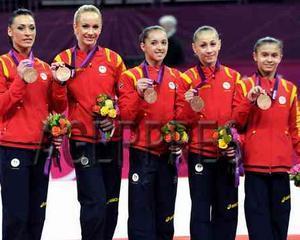 Romania a castigat doua medalii de aur la Cupa Mondiala de gimnastica feminina