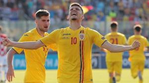 Romania invinge Anglia si este aproape de o calificare istorica in semifinalele Campionatului European de Tineret
