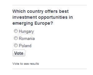 Romania, prezenta intr-un sondaj al CNBC: Care este cea mai buna tara pentru investitii din Europa emergenta?