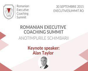 Romanian Executive Coaching Summit 2015 - un eveniment unic, dedicat managerilor de top din Romania