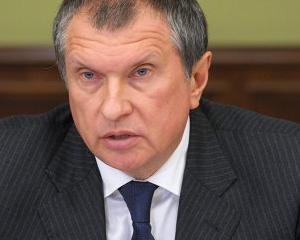 CEO Rosneft: Pana la sfarsitul anului 2014, vom avea un profit net de 13,5 miliarde dolari