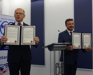 BVB si Clubul Rotary au semnat un acord pentru promovarea educatiei financiare si antreprenoriale