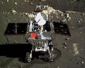 Primul rover chinez trimis pe Luna s-a stricat iremediabil