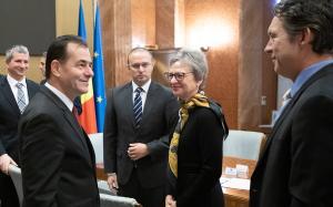 Premierul Ludovic Orban a convenit cu BERD listarea pe bursa a unor companii de stat