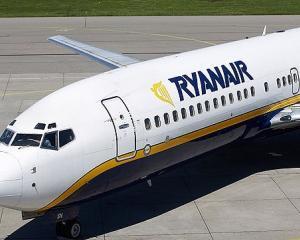 Ryanair lanseaza vanzarea promotionala de mijloc de saptamana la 9.99E
