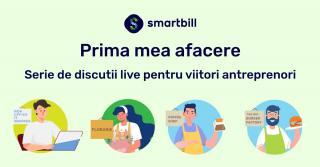 Prima mea afacere - seria de live-uri pentru antreprenori de la SmartBill