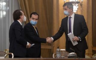 Zi de foc in coalitia de guvernare: Prima sedinta de la demiterea lui Vlad Voiculescu