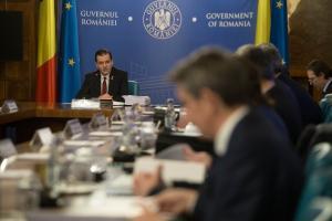 Prima sedinta a Guvernului demis: Nu ne judeca parlamentarii nascuti din pixul lui Dragnea