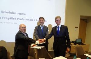 Acord pentru pregatirea profesionala a angajatilor din banci