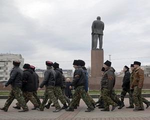 Separatistii din Luhansk, Ucraina, solicita prezenta unor militari ai Rusiei in zona