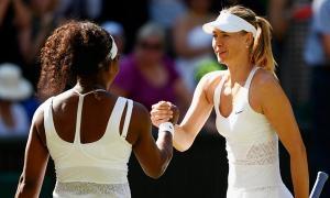 ULTIMA ORA: Sharapova castiga la masa verde! Serena: