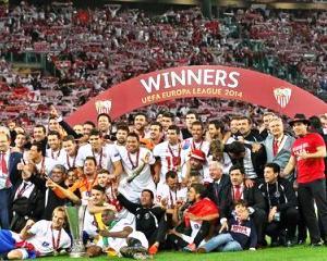 Europa League: Sevilla castiga al treilea trofeu. Primul a fost in 2006, dupa un 4-0 cu Middlesbrough