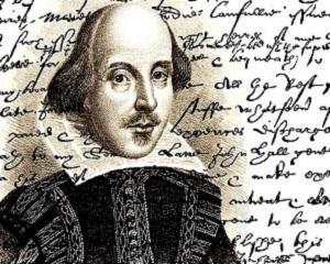23 aprilie 1564: s-a nascut, iar apoi in 1616 s-a stins din viata William Shakespeare