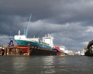 Avem oameni capabili sa construiasca o nava oceanica de 1 miliard de dolari ? Da, la Galati !