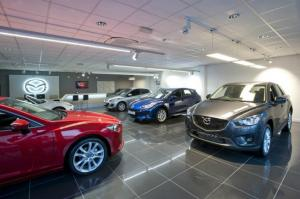Premier Motors a investit 500.000 de Euro in noul showroom Mazda din Timisoara