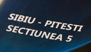 CNAIR a semnat contractul pentru proiectarea si executia Sectiunii 5 a autostrazii Sibiu - Pitesti