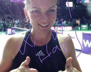 Simona Halep si-a egalat performanta la US Open