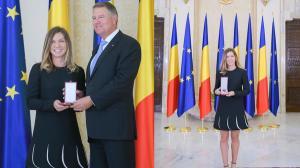 """Simona Halep a primit Ordinul National """"Steaua Romaniei"""" in grad de cavaler"""