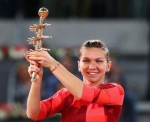 Simona Halep a castigat turneul de la Madrid la capatul unei saptamani aproape perfecte