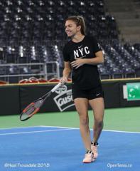 Simona Halep va fi sponsorizata de brandul lui Roger Federer si Rafael Nadal