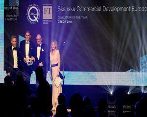 7 premii pentru Skanska in cadrul CEEQA 2014