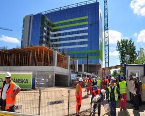 Prima faza a proiectului Green Court Bucharest este finalizata in proportie de 80%