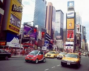 19 mai 2007: marca Smart organizeaza o parada auto pentru intrarea pe piata americana