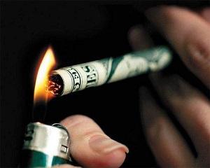 Pierderi masive in industria tutunului