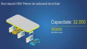 Cel mai mare depozit de carburanti din vestul Romaniei poate face 550.000 de plinuri