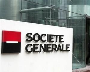 Societe Generale si-a dublat profitul net la 955 milioane de euro