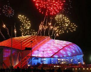 Jocurile Olimpice de la Soci s-au deschis cu multi absenti in loja oficiala