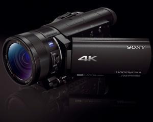 Sony a lansat cel mai mic aparat foto din lume si o serie de camere video
