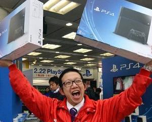 Profiturile Sony au crescut datorita vanzarilor de console PS4
