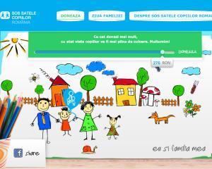 Proiect pentru copii, demarat de SOS Satele Copiilor Romania