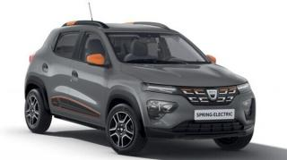 Renault a lansat Dacia Spring, prima masina electrica a marcii romanesti